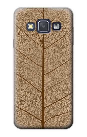 Printed Skeleton Leaf Printed Samsung Galaxy A3, A3 Duos Case