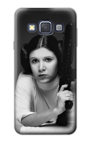 Printed Princess Leia Carrie Fisher Samsung Galaxy A3, A3 Duos Case