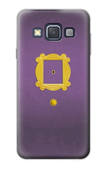 Printed Friends Purple Door Minimalist Samsung Galaxy A3, A3 Duos Case