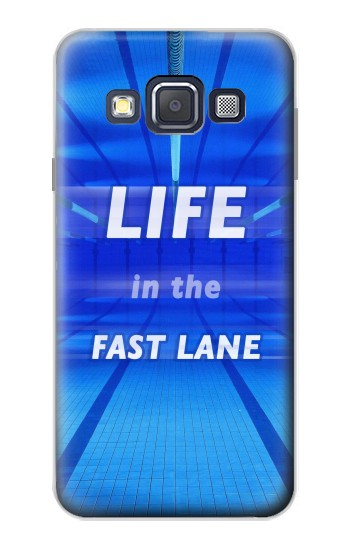 Printed Life in the Fast Lane Swimming Pool Samsung Galaxy A3, A3 Duos Case