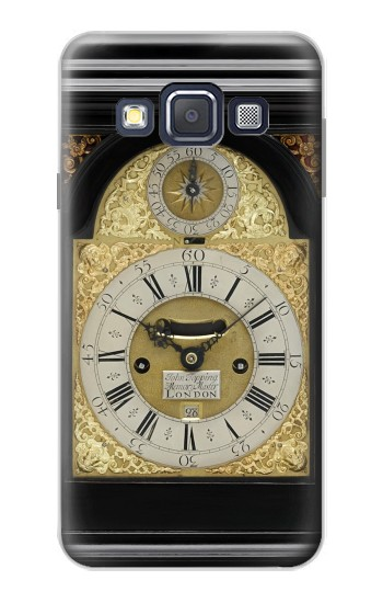 Printed Antique Bracket Clock Samsung Galaxy A3, A3 Duos Case