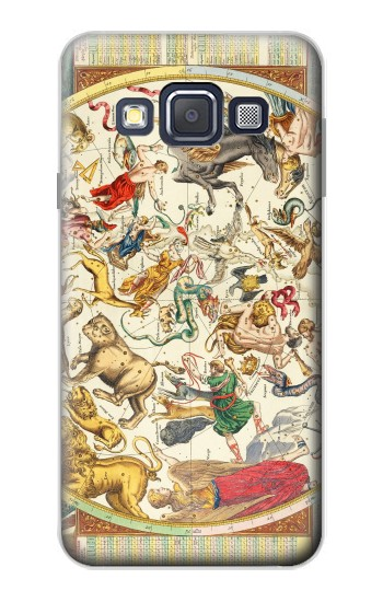 Printed Antique Constellation Map Samsung Galaxy A3, A3 Duos Case