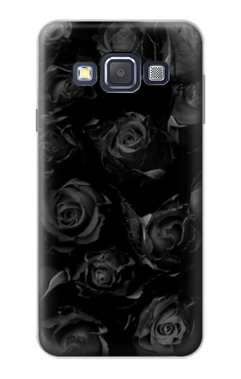 Printed Black Roses Samsung Galaxy A3, A3 Duos Case