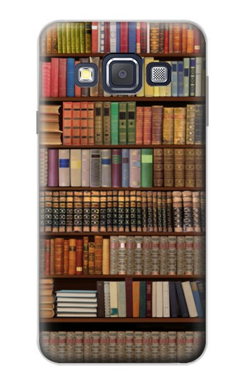 Printed Bookshelf Samsung Galaxy A3, A3 Duos Case