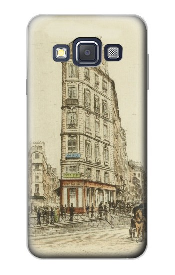 Printed Boulevards of Paris Samsung Galaxy A3, A3 Duos Case
