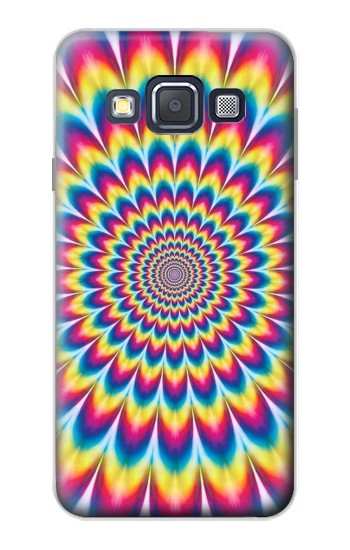 Printed Colorful Psychedelic Samsung Galaxy A3, A3 Duos Case