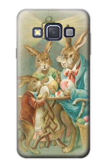 Printed Easter Rabbit Family Samsung Galaxy A3, A3 Duos Case