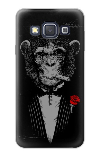 Printed Funny Monkey God Father Samsung Galaxy A3, A3 Duos Case