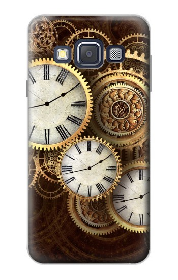 Printed Gold Clock Live Samsung Galaxy A3, A3 Duos Case