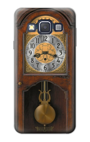 Printed Grandfather Clock Antique Wall Clock Samsung Galaxy A3, A3 Duos Case