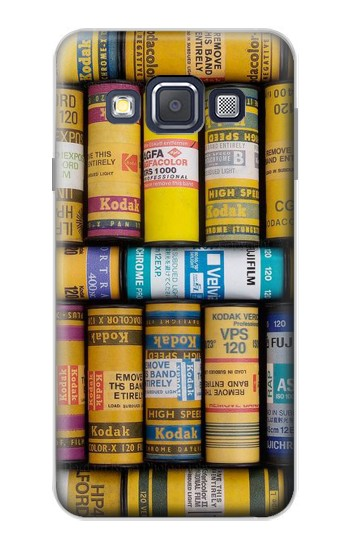Printed MM Film Camera Samsung Galaxy A3, A3 Duos Case