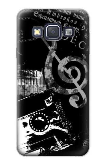 Printed Music Cassette Note Samsung Galaxy A3, A3 Duos Case
