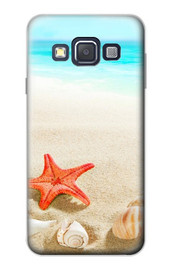Printed Sea Shells Starfish Beach Samsung Galaxy A3, A3 Duos Case