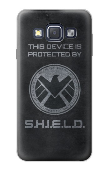 Printed This Device is Protected by Shield Samsung Galaxy A3, A3 Duos Case