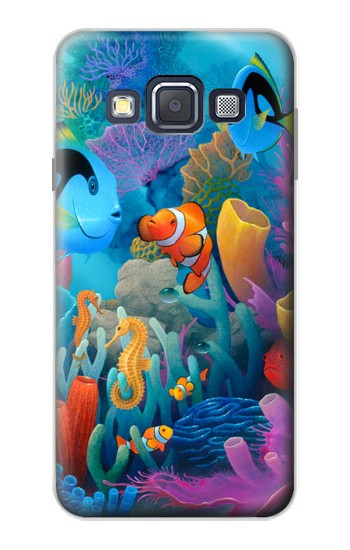 Printed Underwater World Cartoon Samsung Galaxy A3, A3 Duos Case