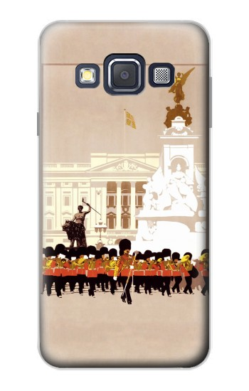 Printed Vintage Travel Brochure London Samsung Galaxy A3, A3 Duos Case