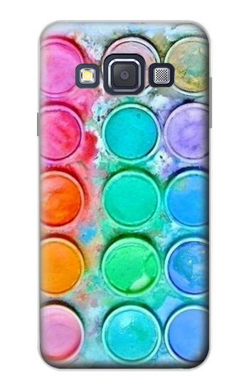 Printed Watercolor Mixing Samsung Galaxy A3, A3 Duos Case