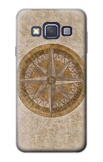 Printed Windrose Circle Stamp Samsung Galaxy A3, A3 Duos Case