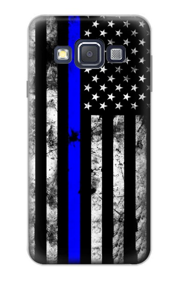 Printed Thin Blue Line USA Samsung Galaxy A3, A3 Duos Case