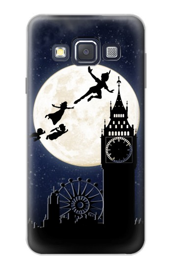 Printed Peter Pan Fly Fullmoon Night Samsung Galaxy A3, A3 Duos Case