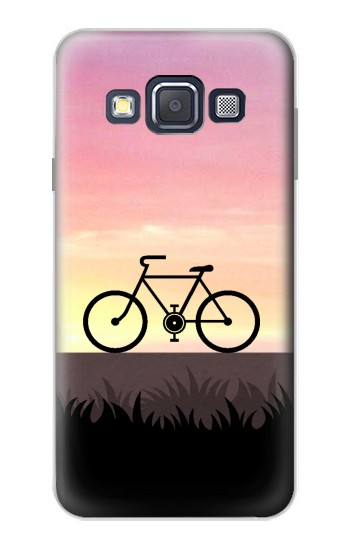 Printed Bicycle Sunset Samsung Galaxy A3, A3 Duos Case