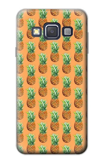 Printed Pineapple Pattern Samsung Galaxy A3, A3 Duos Case