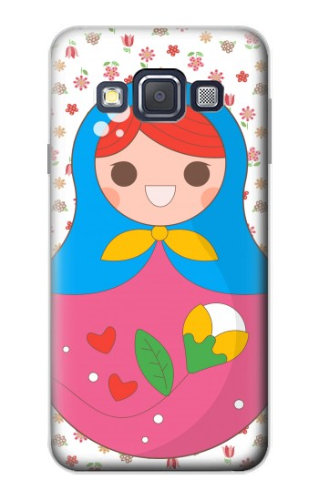 Printed Russian Doll Matryoshka Samsung Galaxy A3, A3 Duos Case
