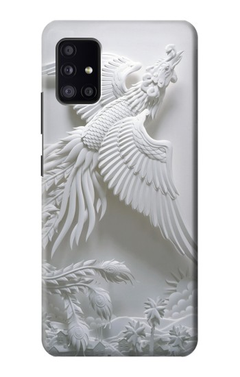 Printed Phoenix Carving Samsung Galaxy A41 Case