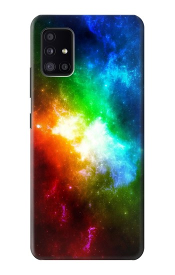 Printed Colorful Rainbow Space Galaxy Samsung Galaxy A41 Case