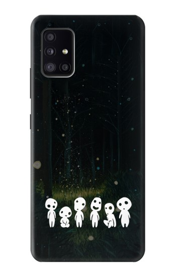 Printed Forest Spirit Princess Mononoke Samsung Galaxy A41 Case