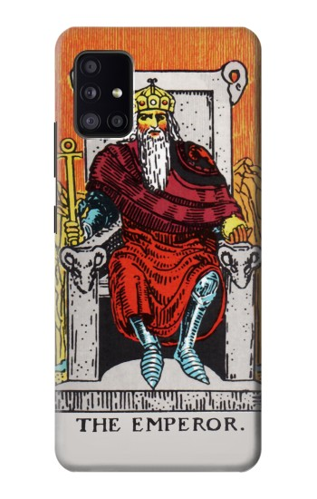 Printed Tarot Card The Emperor Samsung Galaxy A41 Case