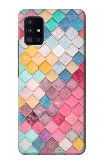 Printed Candy Minimal Pastel Colors Samsung Galaxy A41 Case
