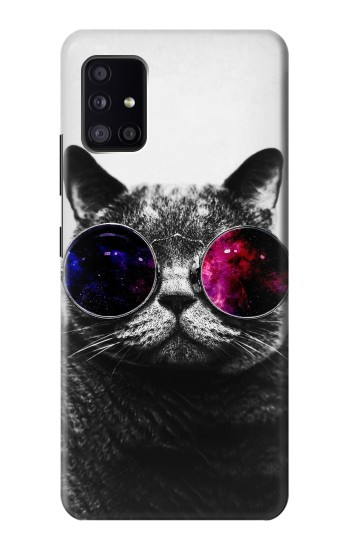 Printed Cool Cat Glasses Samsung Galaxy A41 Case