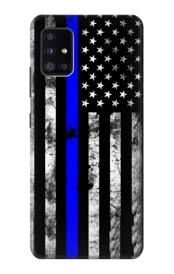 Printed Thin Blue Line USA Samsung Galaxy A41 Case