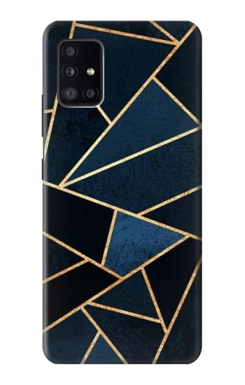 Printed Navy Blue Graphic Art Samsung Galaxy A41 Case