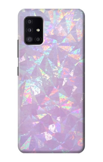 Printed Iridescent Holographic Photo Printed Samsung Galaxy A41 Case