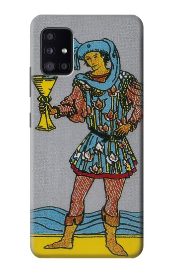 Printed Tarot Card Page of Cups Samsung Galaxy A41 Case
