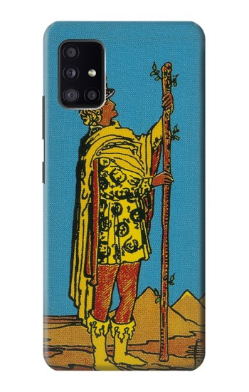 Printed Tarot Card Page of Wands Samsung Galaxy A41 Case