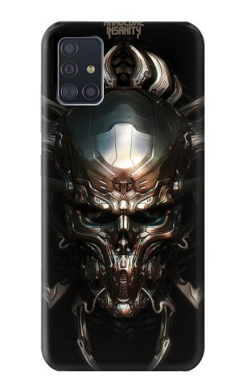 Printed Hardcore Insanity Metal Skull Samsung Galaxy A51 Case
