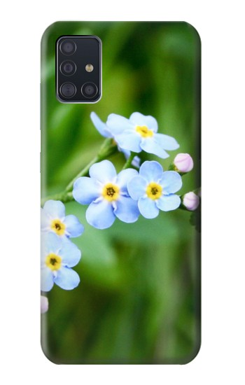 Printed Forget Me Not Samsung Galaxy A51 Case