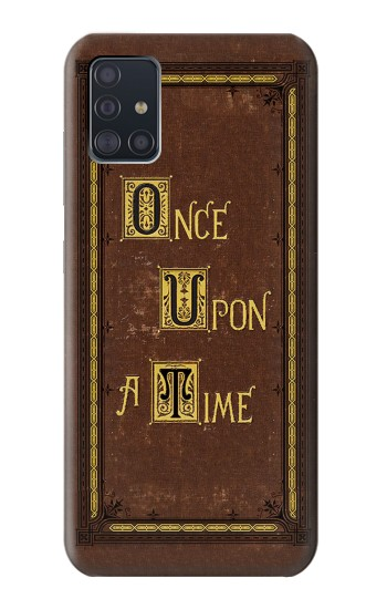 Printed Once Upon a Time Book Cover Samsung Galaxy A51 Case
