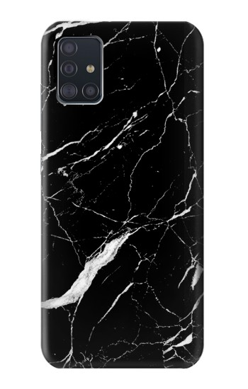 Printed Black Marble Graphic Printed Samsung Galaxy A51 Case