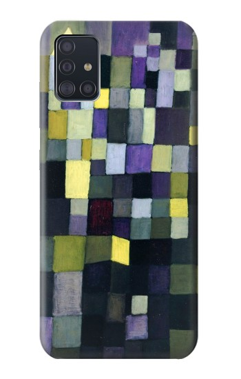 Printed Paul Klee Architecture Samsung Galaxy A51 Case