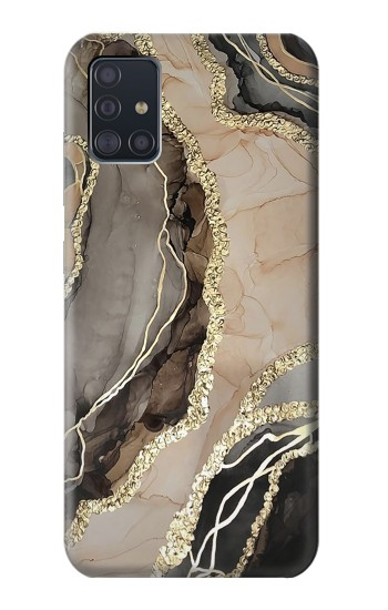 Printed Marble Gold Graphic Printed Samsung Galaxy A51 Case