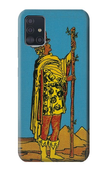 Printed Tarot Card Page of Wands Samsung Galaxy A51 Case