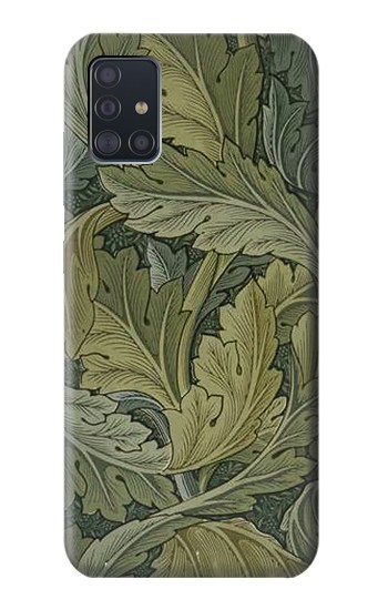 Printed William Morris Acanthus Leaves Samsung Galaxy A51 Case