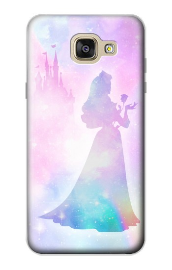 Printed Princess Pastel Silhouette Samsung Galaxy A5 (2016) Case