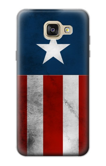 Printed Captain Star Flag of America Samsung Galaxy A5 (2016) Case