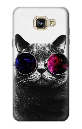 Printed Cool Cat Glasses Samsung Galaxy A5 (2016) Case