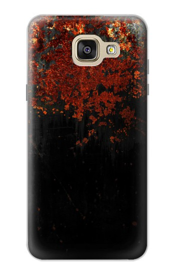 Printed Rusted Metal Texture Samsung Galaxy A5 (2016) Case